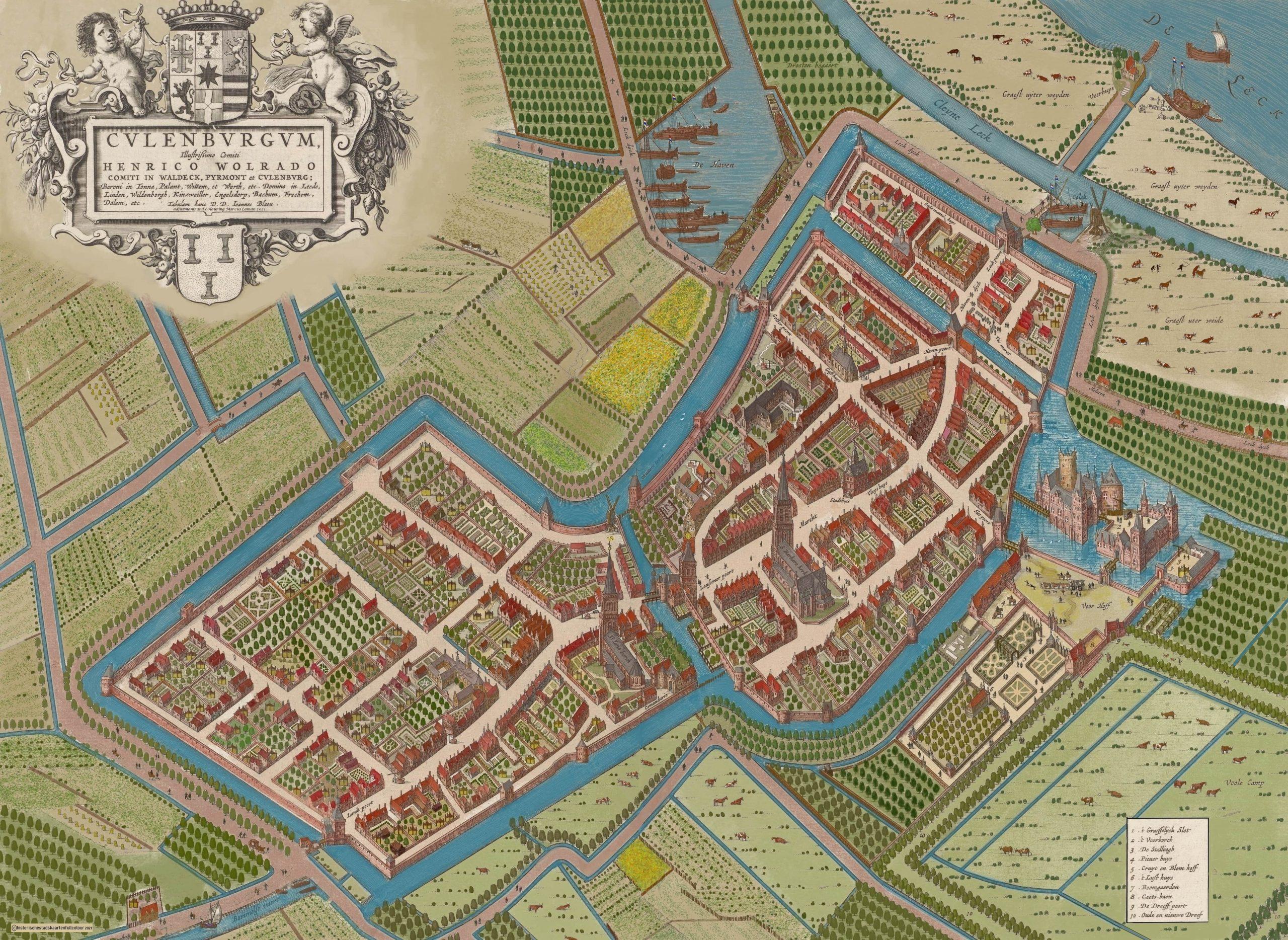 Culemborg, Johannes Bleau GEKLEURD-min