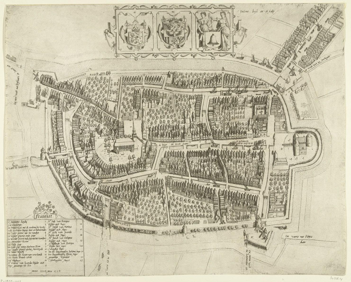 Franeker, Pieter Bast 1598 origineel betere versie klein-min