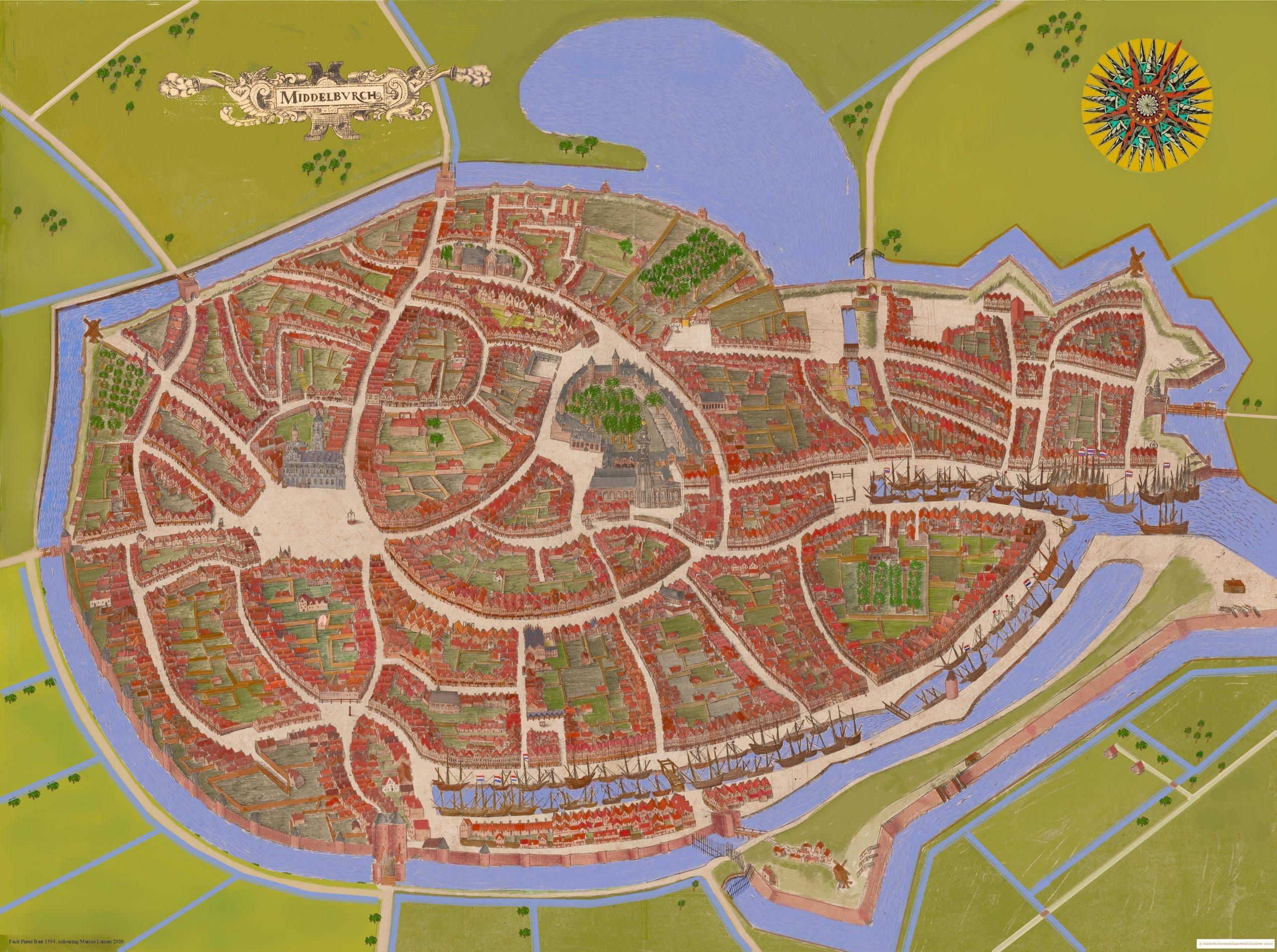 Middelburg 1594 Pieter Bast gekleurd versie 300820-min
