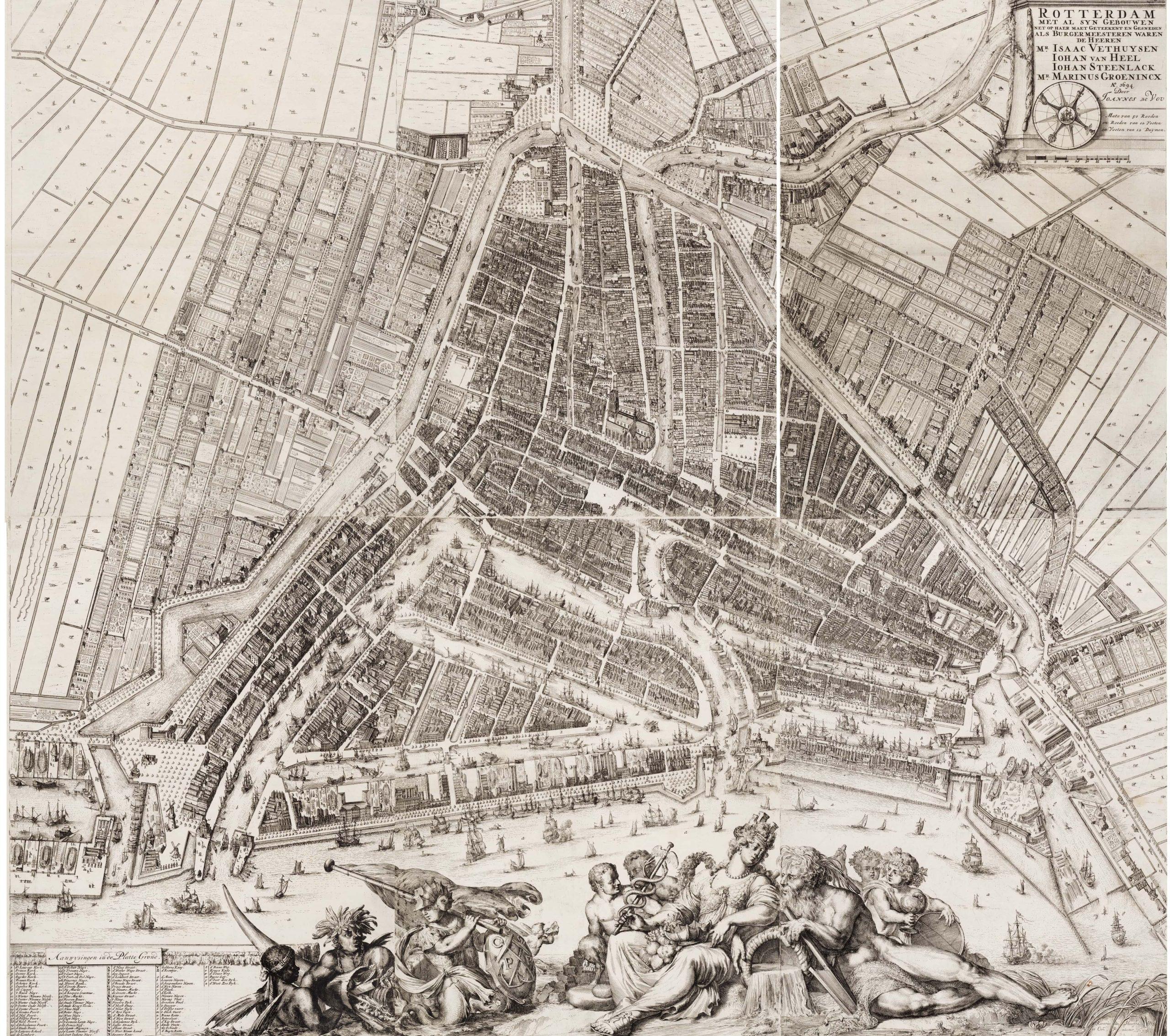 Rotterdam 1694, Romeyn de Hooghe compleet-min